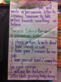 Writing Grade 3 Rocks
